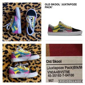 Vans Baby 7 Old Skool Juxtapose Pack multi clr